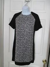 Pink Martini Modcloth Colorblock dress black & white Size S NEW