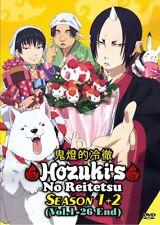DVD Anime Hozuki's No Reitetsu Season 1+2 Series (1-26 End) English Subtitle