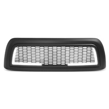 For 2010-2018 Dodge Ram 2500 3500 LED Honeycomb Matte Front Hood Grille Frame