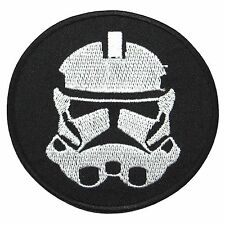 IMPERIAL STORM TROOPER - Star wars Movie Hope Embroidered - Iron On Patch Child