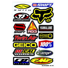 NEW THROME JOCKEY SHIFT GEICO SHIFT SMITH DECAL WORKS FMF DIE CUT STICKER DECALS