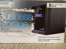 Seagate NAS BlackArmor Business Storage 8TB 4-Bay STBP8000100 (NO HDD's)