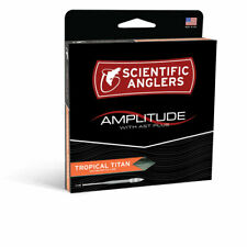 SCIENTIFIC ANGLERS AMPLITUDE TROPICAL TITAN WF-10-F #10 WT FLOATING FLY LINE