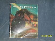 PENNSY POWER l l  STEAM  DIESEL & ELECTRIC LOCOMOTIVES  BY ALVIN F. STAUFER