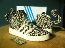"DS Adidas Originals x Jeremy Scott ""Leopard"" 10 Black wings yeezy boost nrg nmd"