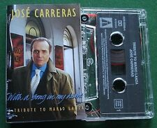 Jose Carreras With A Song in My Heart Mario Lanza Tribute Cassette Tape - TESTED