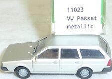 VW PASSAT année 1981 métal argenté IMU modèle européen 11023 H0 1/87