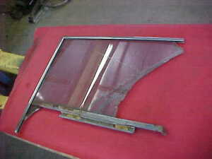 1959 59 FORD SKYLINER RETRACTABLE SUNLINER CONVERTIBLE L/H DOOR WINDOW FRAME 76B