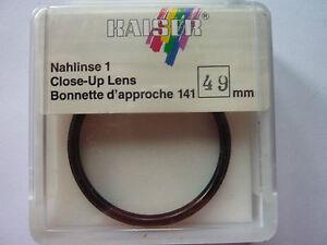 Nahlinse +1   49mm   -Kaiser-