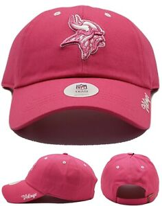 Minnesota Vikings New '47 Fan Favorite Women Ladies Clean Up Pink Era Hat Cap