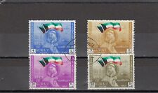 a139 - KUWAIT - SG191-194 FINE USED 1963 2nd ANNIV OF NATIONAL DAY