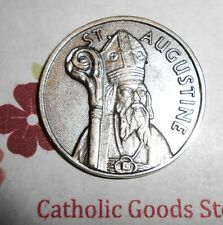 St. Augustine - Quote from Saint Augustine - Pocket Coin