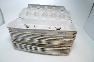 Pulp Egg Cartons Lot of 16 Empty Dozen Egg Crates School Crafts Clean All Sizes