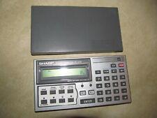 Sharp Calculator PC-1270 Pocket Computer, Carleton Loan Whiz, Tested