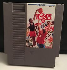 Hoops NES Game (Nintendo Entertainment System, 1989)