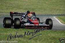 "Formula 1 Driver Arturo Merzario Hand Signed Photo Autograph 12x8"" AP"