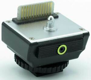 Sunpak Blitzadapter MX-1D  - für Minolta X-7, XD, XG und Leica R4 -