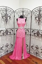BD223 MACDUGGAL 40541 PINK SZ 0 $348 #2540  PAGEANT  FORMAL  DRESS GOWN NWT