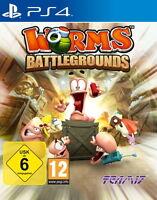 Worms: Battlegrounds Ps4 (Sony PlayStation 4) NEUWARE