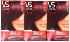 3 Vidal Sassoon Ultra Vibrant Hair Color 4RV London Luxe Mayfair Burgundy