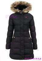 New GIRLS PUFFA PARKA JACKET COAT HOODED Padded CLOTHING AGE 7 8 9 10 11 12 13 W