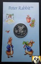 2003 RARA Gibilterra 1 UNA CORONA MONETA Peter Rabbit nella confezione originale (non 50p)