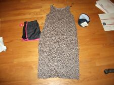 wOMENS  SZ S dress BLACK & PINK SHORTS,  &  TOTE MIXED .99 LOT 1X391
