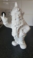 Funny Garden Gnome Ornament Naughty Rude Middle Finger Figurine 30 cm 11.8 in