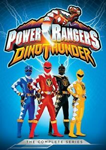 POWER RANGERS: DINO THUNDER - THE COMPLETE SERIES NEW DVD