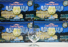 New Set  4 Glass National Lampoon's Christmas Vacation Griswold Marty Moose Mugs