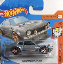 Hot Wheels 1/64 Único Customizado Ford Maverick,Real Riders ,Muscle Mania . 2019