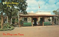 Vintage Six Flags Over Texas Amusement Park Postcard - Mexican Market