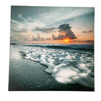 LED Light Up HD Sunset Ocean Scene Wall Home Decor Canvas Picture Photo Gift Art