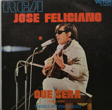 """JOSE FELICIANO - Que sera - therer s no one about   RCA 310596    7"""" (K614)"""