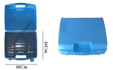 scatola in plastica porta avvolgilenze valigetta da pesca box surfcasting