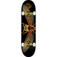 """Powell Peralta Skateboard Assembly Biss Potter Wasp Flight 8.0"""" x 31.45 Complete"""