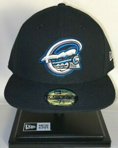RARE Syracuse Chiefs MILB Baseball New Era 59Fifty Fitted Hat, Size 7-1/2 Sky