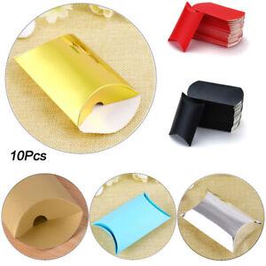 10PCS Gift Box Wedding Party Favour Kraft Paper Candy Boxes Supplies 9*6.5*2.4cm
