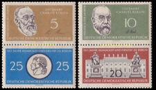 EBS East Germany DDR 1960 Humboldt University & Charité SE-TENANT ZD12&13 MNH**