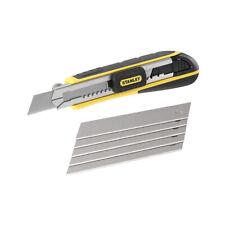 Stanley Cutter FatMax mit Magazin 18 mm Cuttermesser Teppichmesser Messer