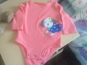 Carters quality cute baby girl babygrow 3 months