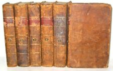LEATHER Set;PLUTARCH's LIVES! • work greek morals Benjamin Franklin ancient RARE