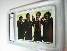 HEART THROB OF MILLIONS THE THREE 3 STOOGES 2014 CHRONICLES COLOR #125 GRADED 9