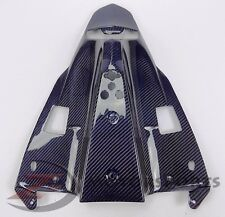2009-2014 R1 Rear Under Tail Tray Lower Cowling Fairing 100% Carbon Fiber Blue