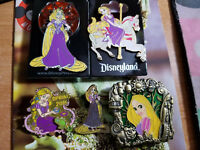 disney pin,5 Princess Rapunzel,4 LE Stained Glass,Carousel,Window Spherical,more
