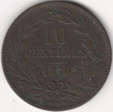 More details for 1870 luxembourg 10 centimes | coins | pennies2pounds