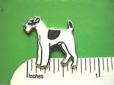 Fox terrier - hat pin , lapel pin , tie tac , hatpin GIFT BOXED