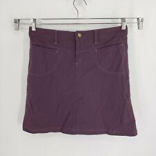 Athleta Woman's Sz 8 Tall Dipper Skirt Skort Nylon Stretch 773823 Purple Liner