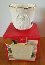 Lenox Candle Holder Angelic Visions Prayer Angel Votive Holiday Tea Light