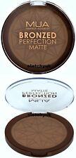 MUA Bronzer Bronzed Perfection Matte Powder 15g New Sealed